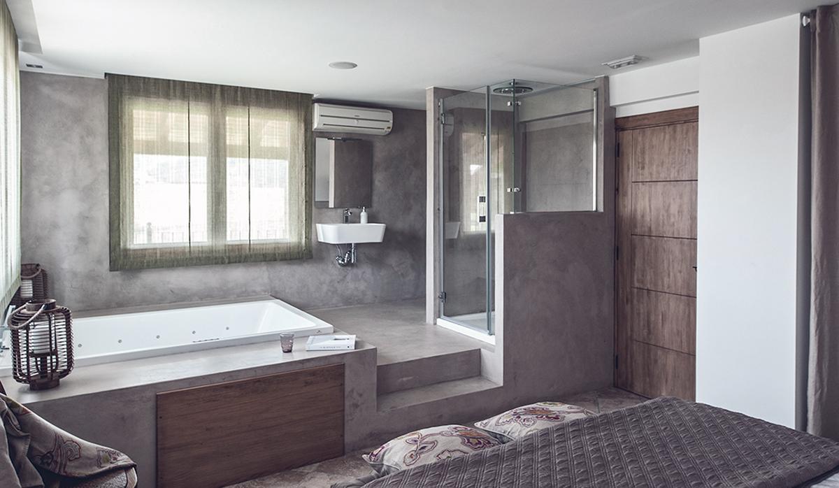 interiorismo-dormitorio-posada rural-guemes-cantabria-microcemento-6