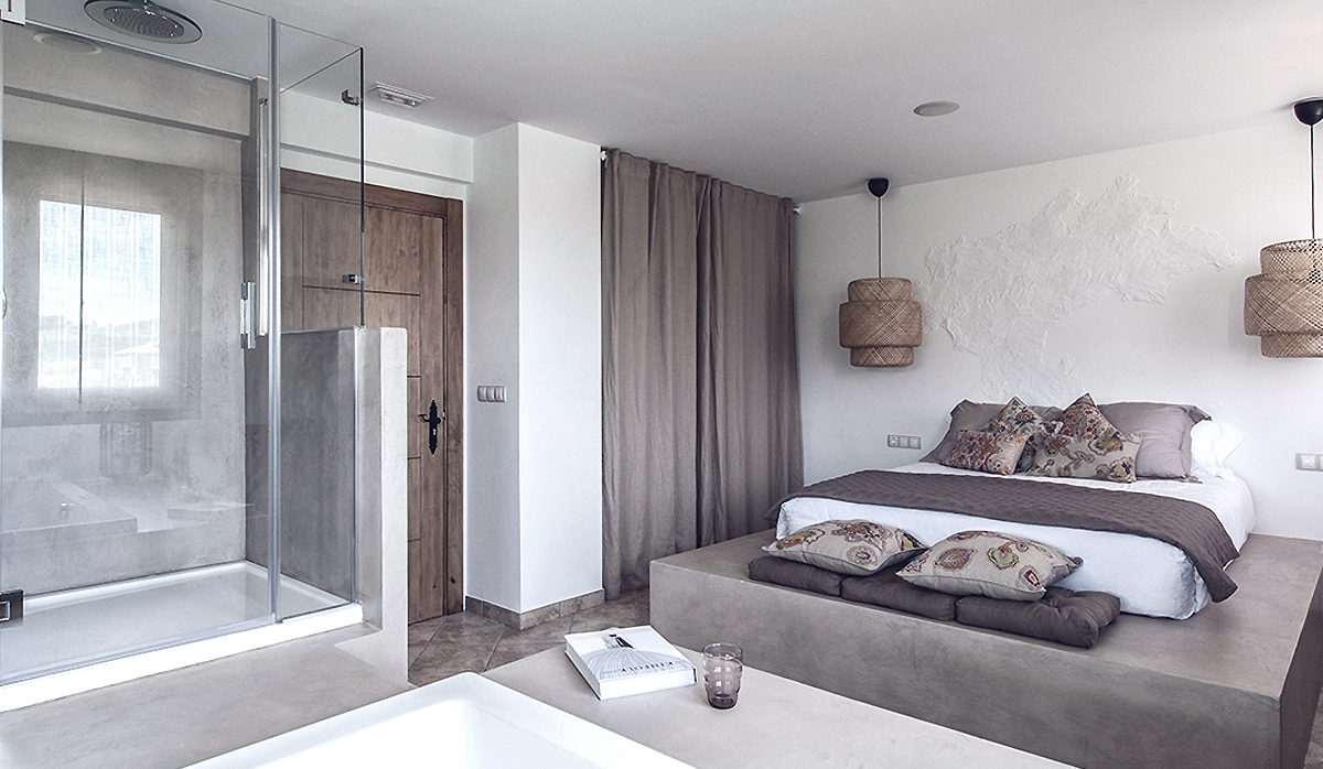 interiorismo-dormitorio-posada rural-guemes-cantabria-microcemento-9